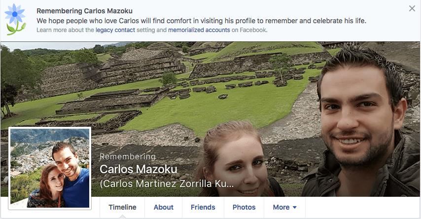 Carlos Martinez Facebook Choque en Reforma