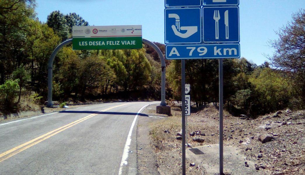 Los cuerpos fueron hallados en la Carretera Gran Visión a Hermosillo, a la altura del kilómetro 349. (Fiscalía de Chihuahua)