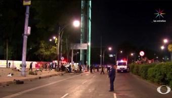 En el accidente murieron cuatro personas. (Noticieros Televisa)