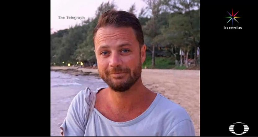 Chris Bevington, víctima del ataque en Estocolmo. (Noticieros Televisa)