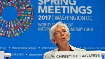 Christine Lagarde, directora gerente del FMI, habló sobre la economía de México. (Reuters)