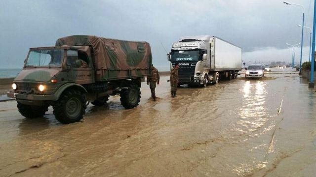 Unas 1,300 personas siguen evacuadas en la localidad de Chubut. (@JulioMartinezLR /Archivo)