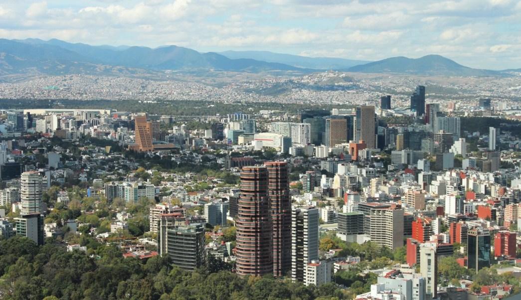 Panoromica de la Ciudad de Mexico;