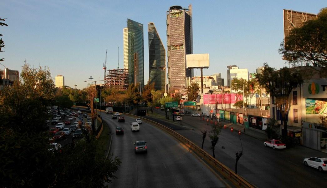 Panorámica de la Ciudad de México; prevén una temperatura máxima de 28 grados centígrados. (Notimex)