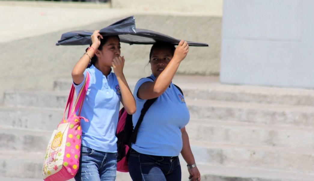Autoridades de protección civil de Chipas alertan a los habitantes a protegerse por el intenso calor en el sureste del país (Notimex)