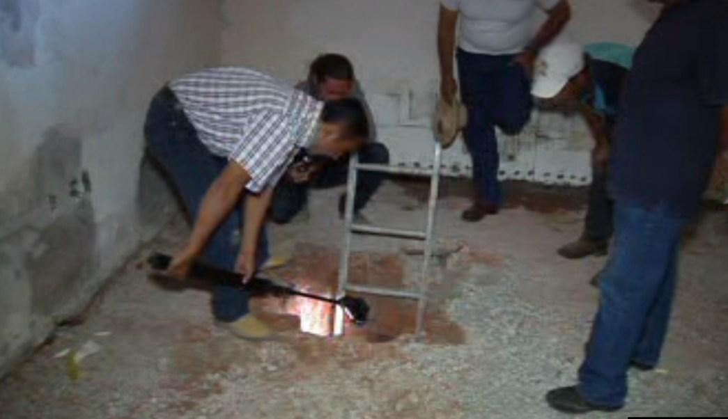 Inmuebles de Colima se encuentran conectados por una red de túneles (Noticieros Televisa)