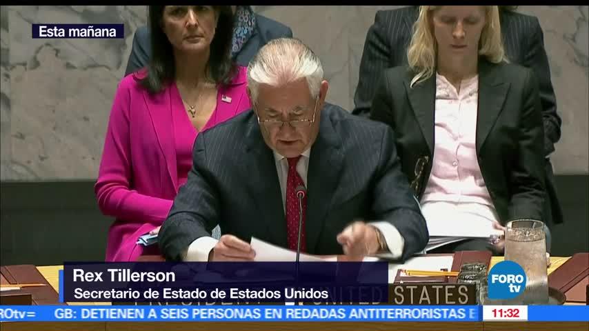 Consejo de Seguridad de ONU analiza programa nuclear de Norcorea
