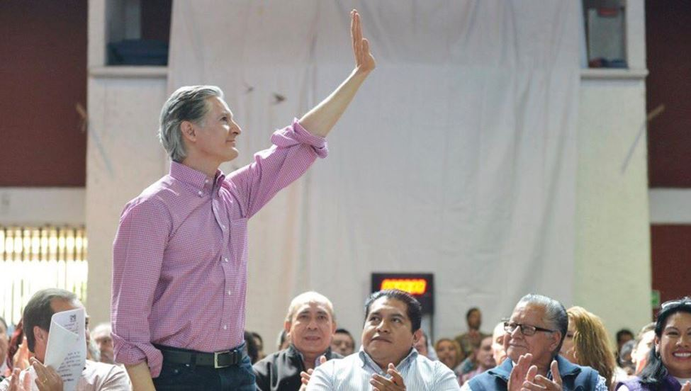 Del Mazo afirma que el presupuesto cultura para el Edomex será irreductible. (Foto @alfredodelmazo)
