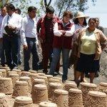 Delfina Gómez propone reactivar el campo. (Foto @delfinagomeza)