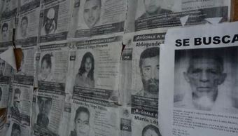 El país se tiene registro de 57 mil 861 personas desaparecidas en el periodo de agosto de 1995 al 2015 (Twitter/@GrupoDeAccionDH)