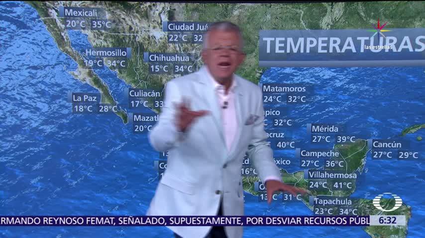 Despierta con Tiempo Prevén temperaturas de más de 45 grados en ocho estados de México