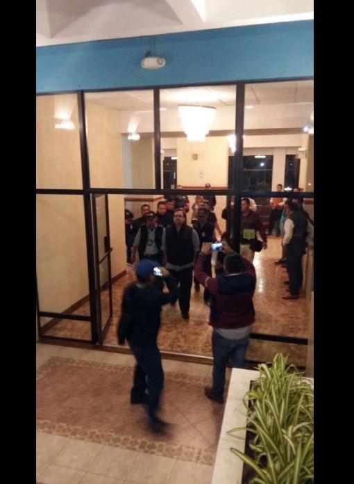 Las primeras imágenes del gobernador Javier Duarte detenido en Guatemala (Noticieros Televisa)
