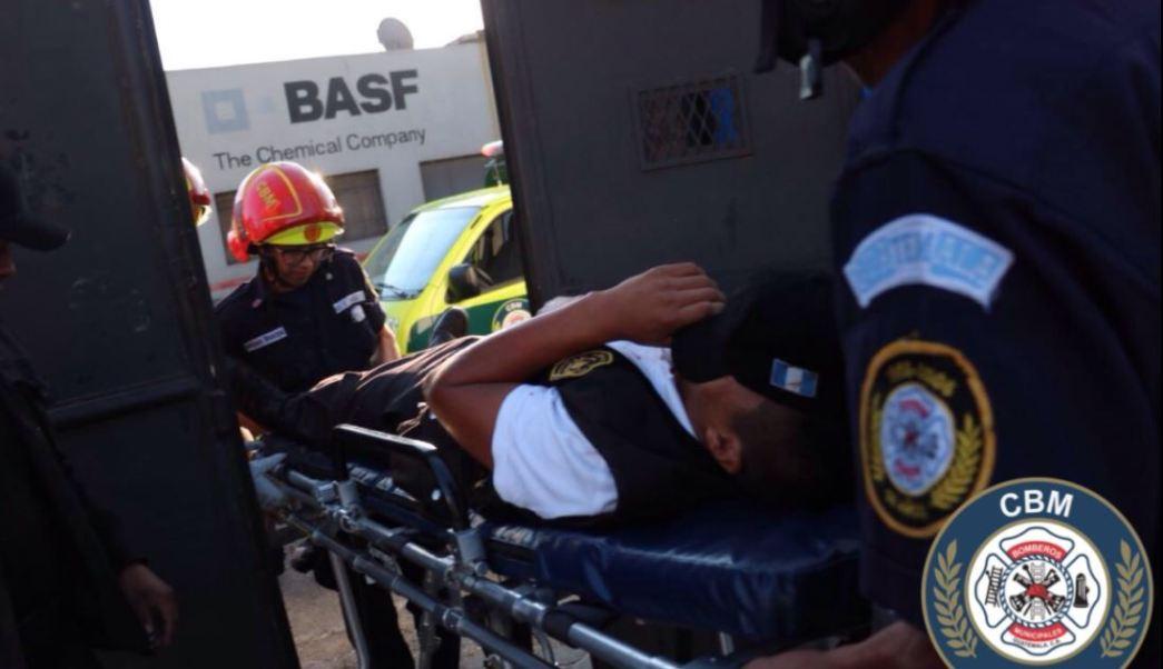 Los disturbios se registraron en el centro de detención provisional Las Gaviotas. (@bomberosmuni)