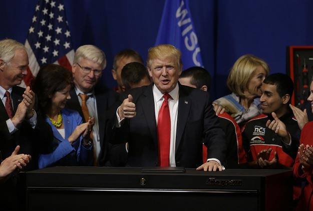Donald Trump, presidente de Estados Unidos, amenaza con cambiar el TLCAN.