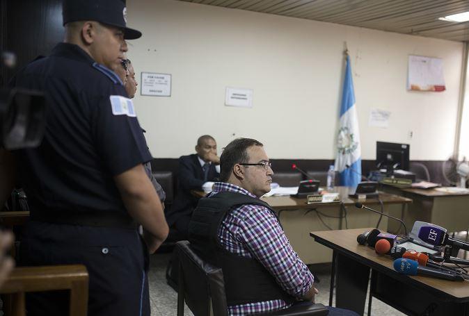 Javier Duarte, exgobernador de Veracruz. (AP)