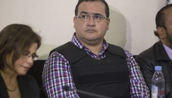 Javier Duarte, exgobernador de Veracruz, fue detenido el sábado 15 de abril en Guatemala (AP)