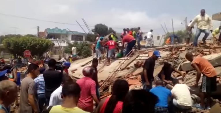 El derrumbe tuvo lugar en el barrio Blas de Lezo, del suroeste de Cartagena. (https://www.elheraldo.co)
