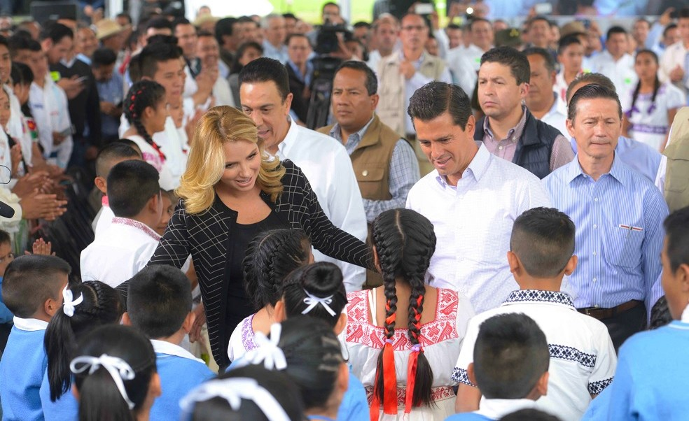 EPN visitó la huasteca hidalguense. (Presidencia de la República)