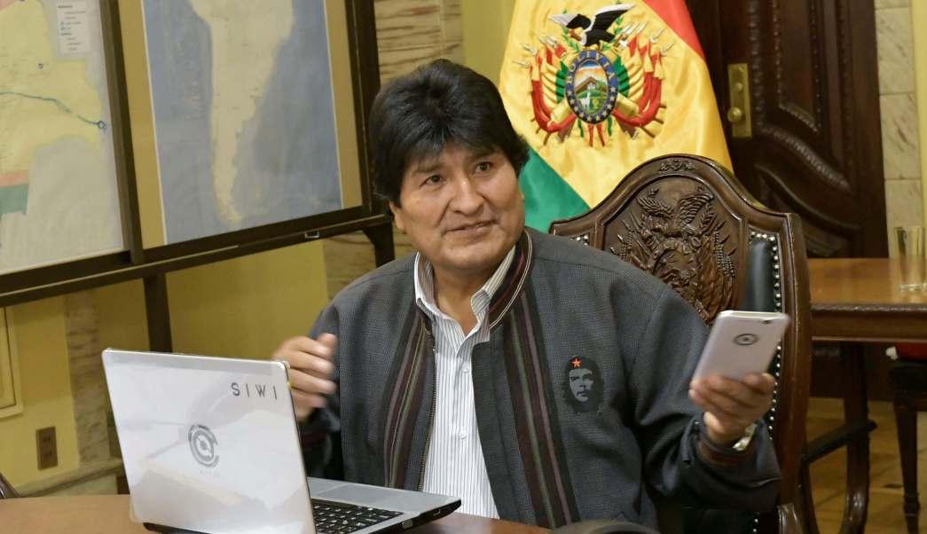 Evo Morales, presidente de Estados Unidos.