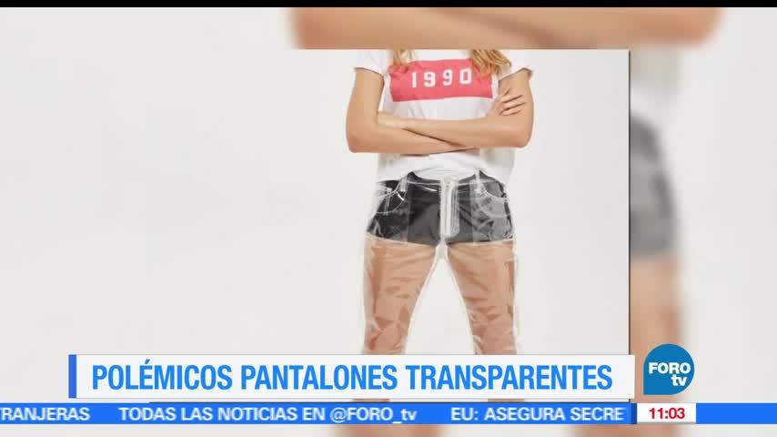 Extra, Extra Venden polémicos pantalones transparentes