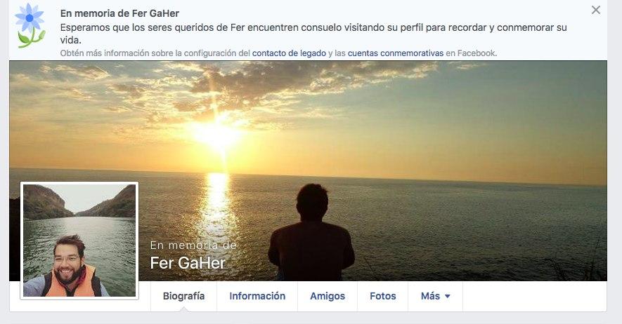 Fer GaHEr Facebook Choque en Reforma
