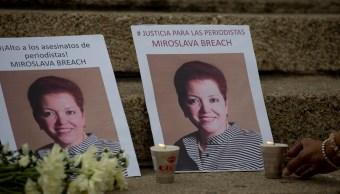 Fiscalía de Chihuahua investiga la muerte del presunto asesino de la periodista Miroslava Breach. (AP, Archivo)