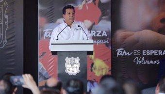 Francisco Javier García Cabeza de Vaca, gobernador de Tamaulipas. (Twitter: @fgcabezadevaca)