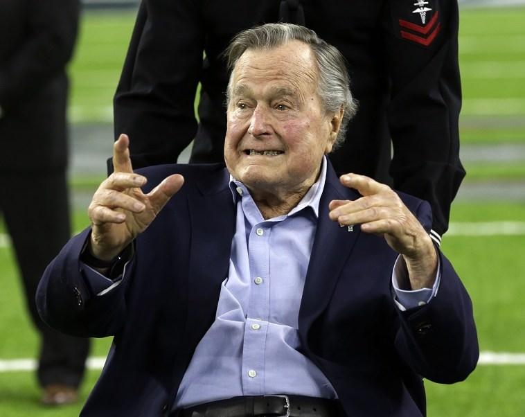 George H. W. Bush, expresidente de Estados Unidos (1989-1993).
