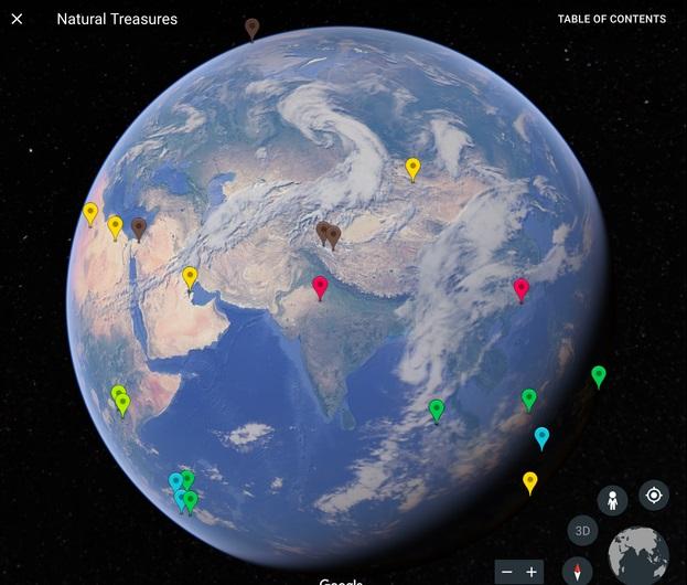 La empresa dio a conocer, a través de un comunicado, que Google Earth incorporó una nueva versión (Foto: Google)
