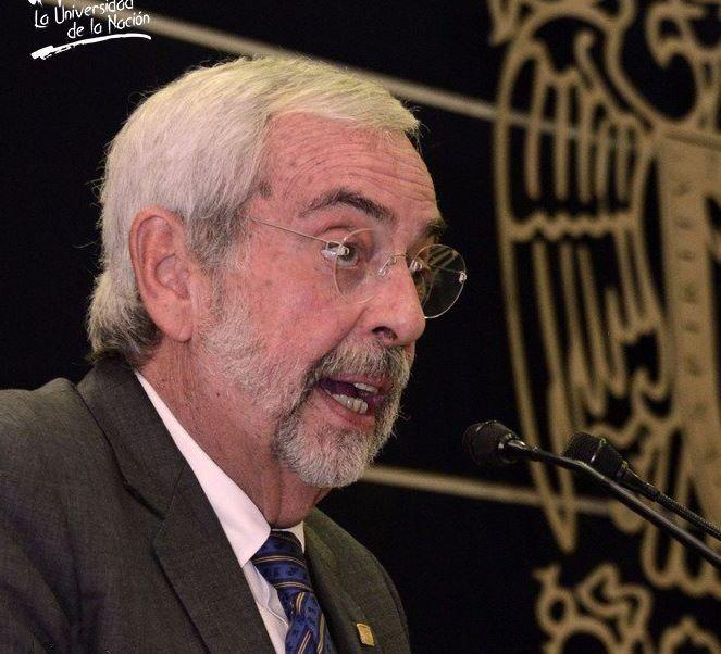 Graue afirmó que se necesitan nuevos cursos de desarrollo planteados desde un análisis académico (Twitter/@UNAM_MX)