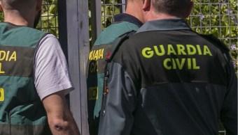 Fotografía que muestra agentes de la Guardia Civil española. (EFE)