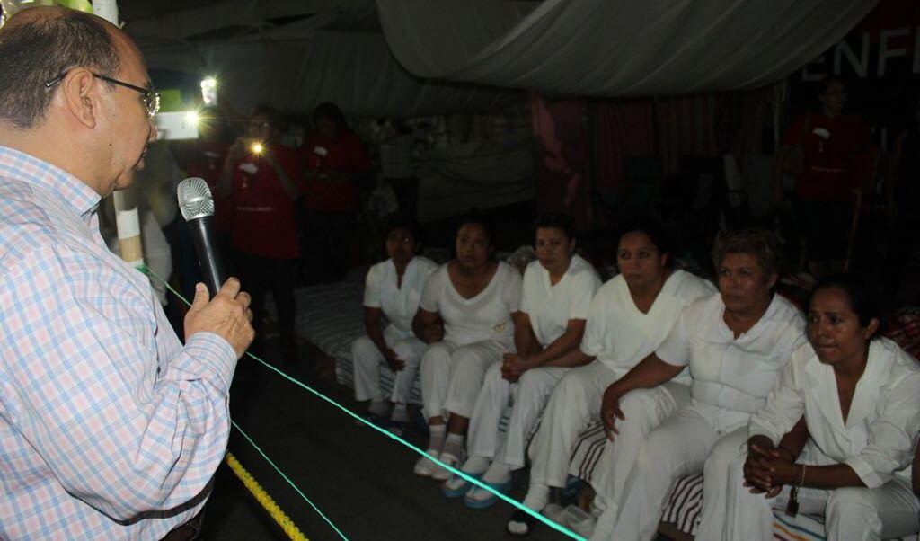 El plantón permanecerá hasta el 20 de abril. (Gobierno de Chiapas)