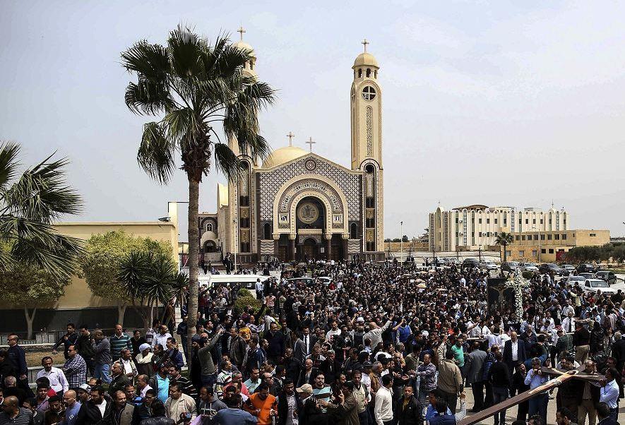Iglesia de Mar amina, en Alejandría, Egipto (AP)