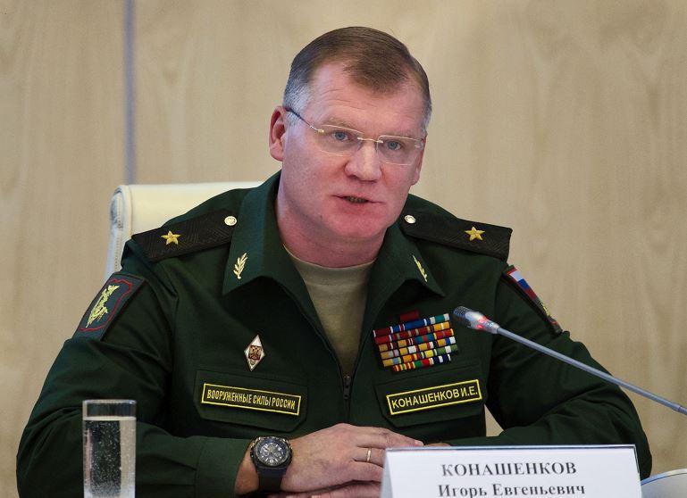 Igor Konashenkov, portavoz del Ministerio de Defensa ruso. (AP, archivo)