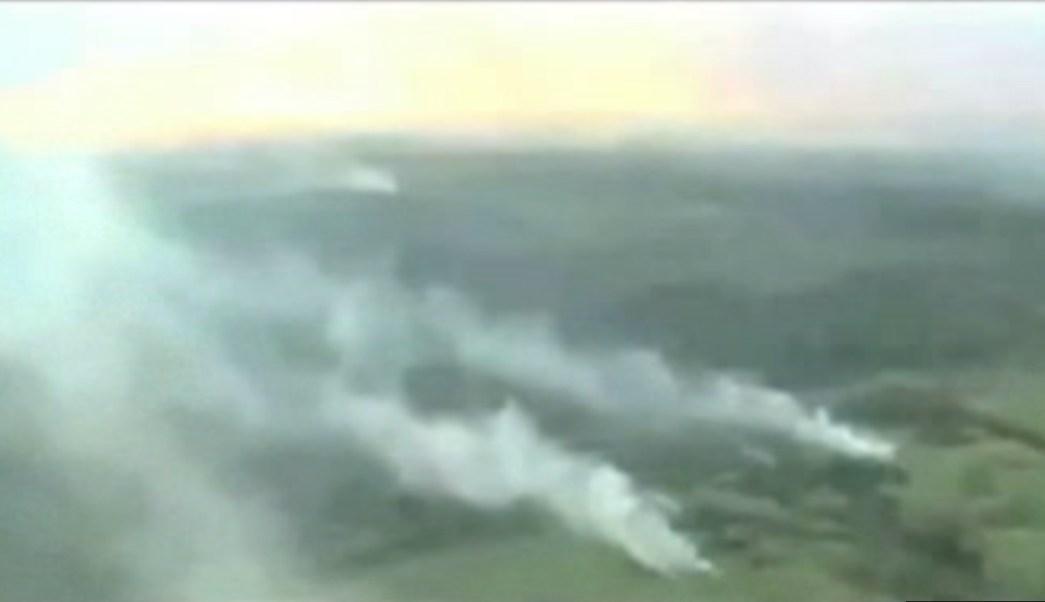 Varios incendios afectan a Veracruz; las autoridades trabajan para extinguirlos (Noticieros Televisa)