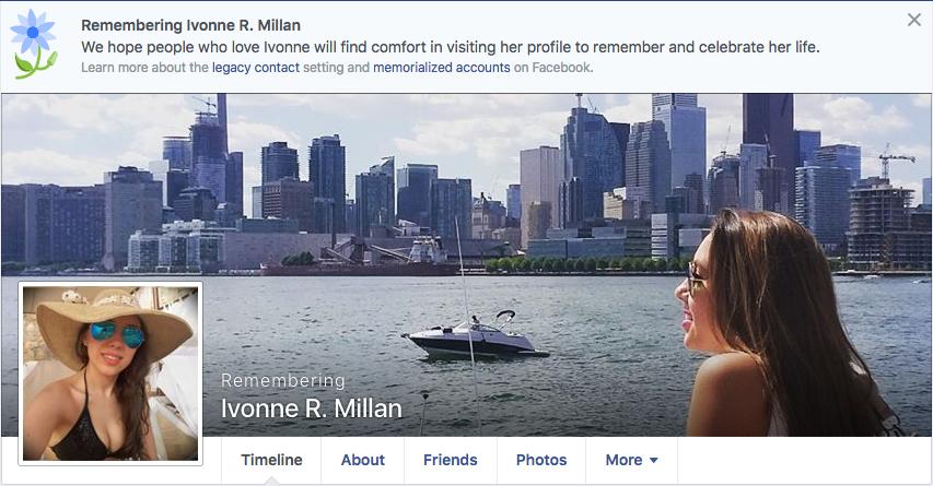 Ivonne Millan Facebook Choque en Reforma
