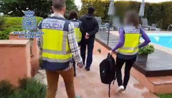 Javier Nava Soria, presunto cómplice de Javier Duarte fue detenido el miércoles en Barcelona. (EFE)