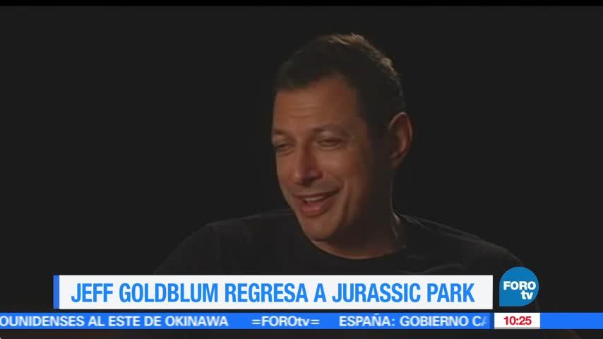 Jeff Goldblum regresa a Jurassic Park 2