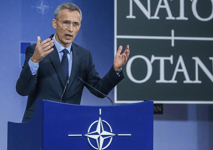 Jens Stoltenberg, secretario general de la OTAN. (EFE, archivo)