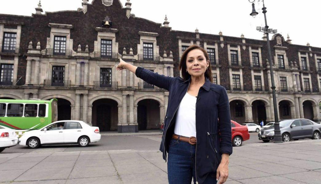 Josefina Vázquez Mota, candidata del PAN al gobierno del Estado de México (Twitter @JosefinaVM)