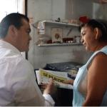Juan Zepeda, candidato del PRD al gobierno del Estado de México, visita Ecatepec (Twitetr @JuanZepeda)