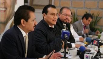 Juan Zepeda, candidato del PRD al Gobierno del Edomex, presentó los detalles de su plataforma de seguridad. (Twitter @JuanZepeda_)
