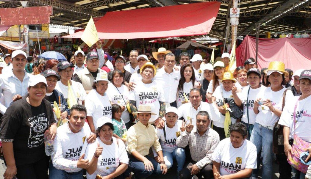 Juan Zepeda, estado de México, prd, política, pobreza, rezago