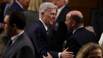 Senador confirman a Neil Gorsuch como juez del Tribunal Supremo de Estados Unidos. (Getty Images)