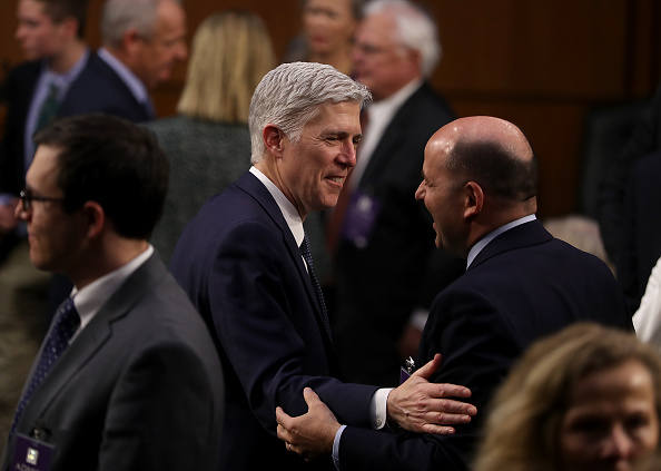 Senador confirman a Neil Gorsuch como juez del Tribunal Supremo de Estados Unidos. (Getty Images)