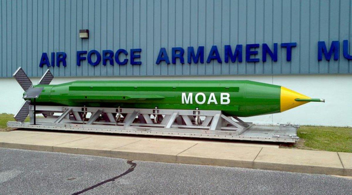 La Madre de todas las Bombas, 'Mother Of All Bombs', MOAB, (Archivo)