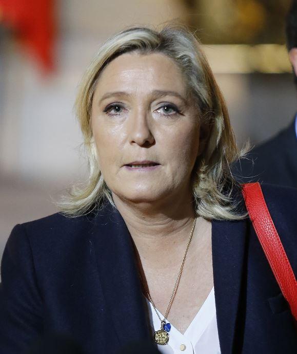 Atacaron el cuartel general de Marine Le Pen