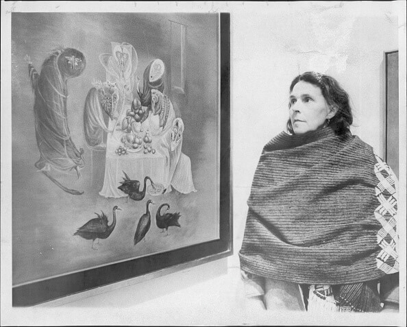 Leonora Carrington nació el 6 de abril de 1917 en Inglaterra. (Getty images, archivo)