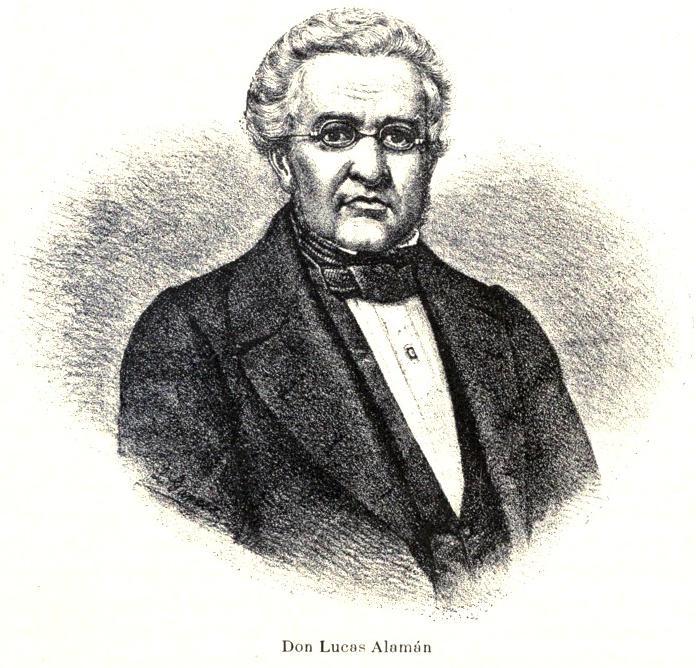 Lucas Alamán.