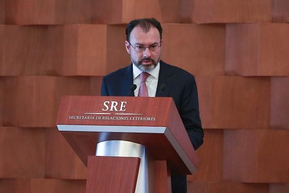 Luis Videgaray Caso, secretario de Relaciones Exteriores. (Gety Images)